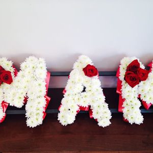 Flowers Letters
